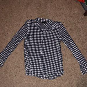 Classic-fit boy shirt gingham button-down